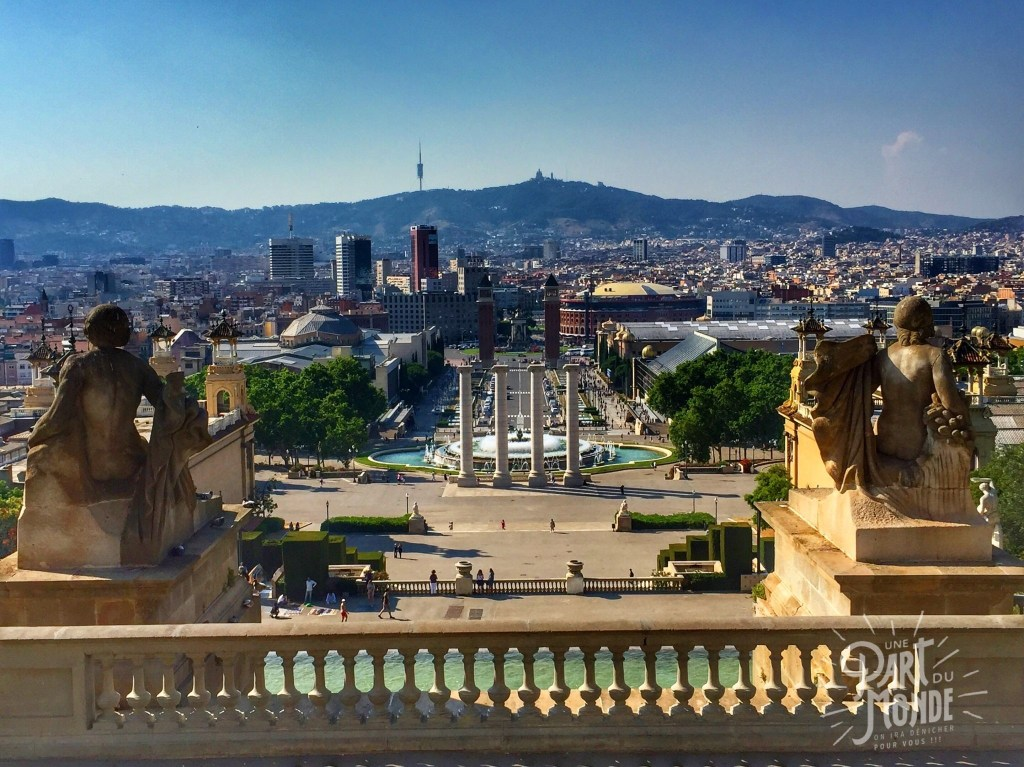 barcelone fontaines montjuic