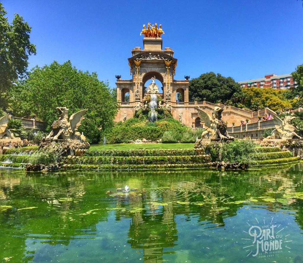 barcelone parque ciutadella
