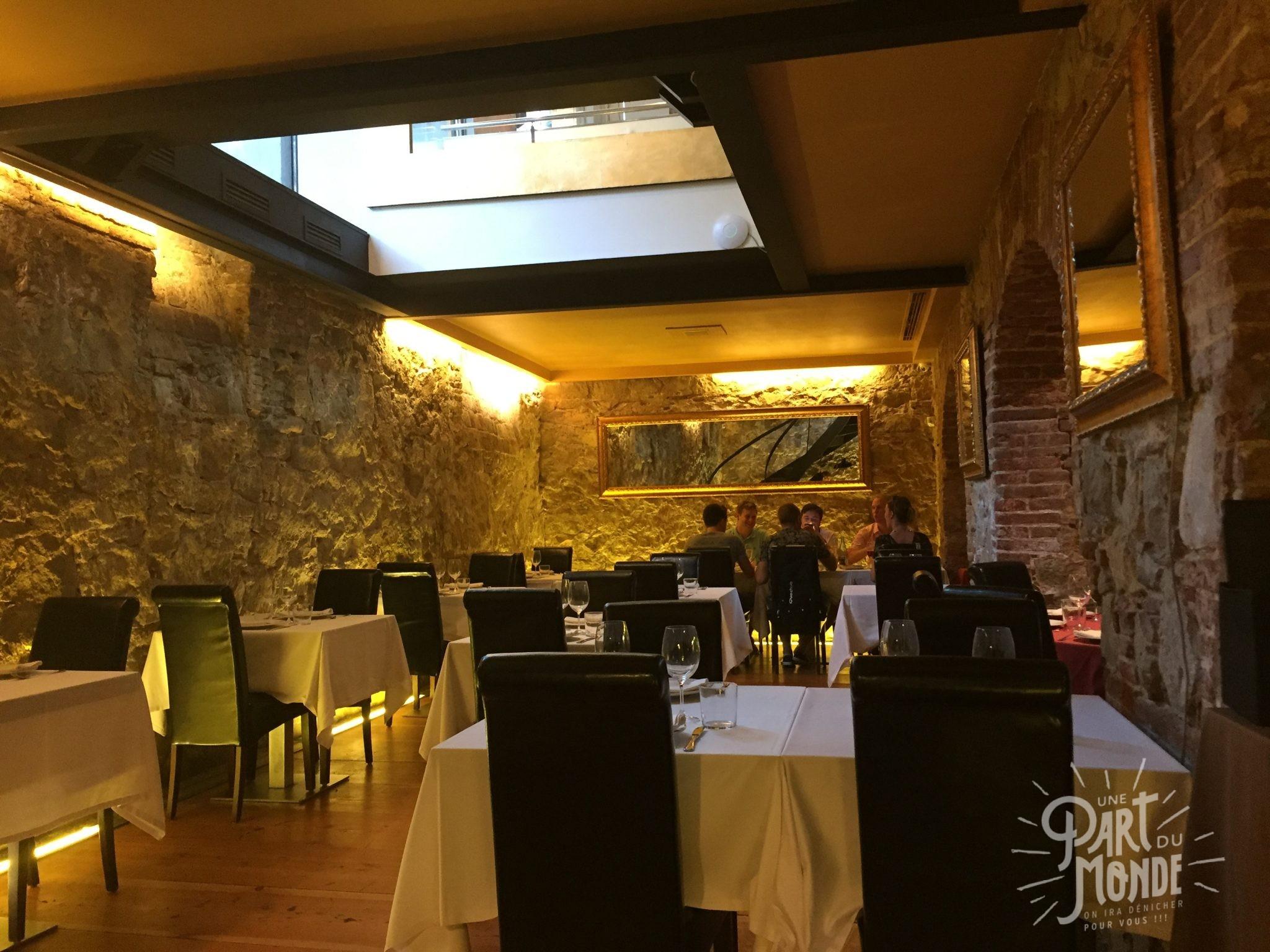 caveau restaurant barcelone le gambeta