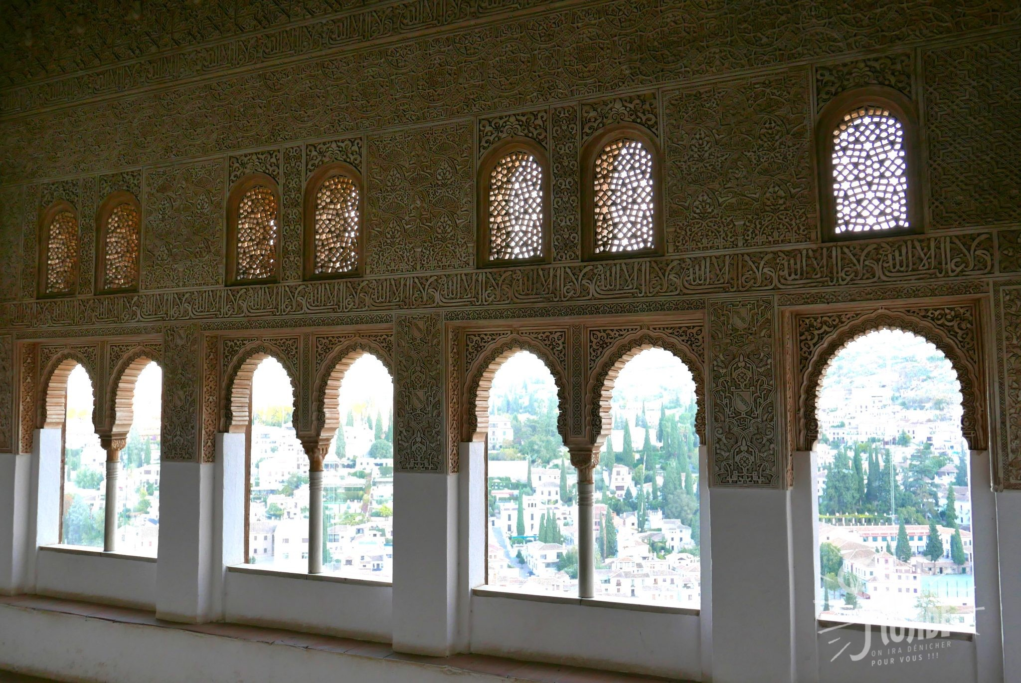 mur alhambra grenade dentelle