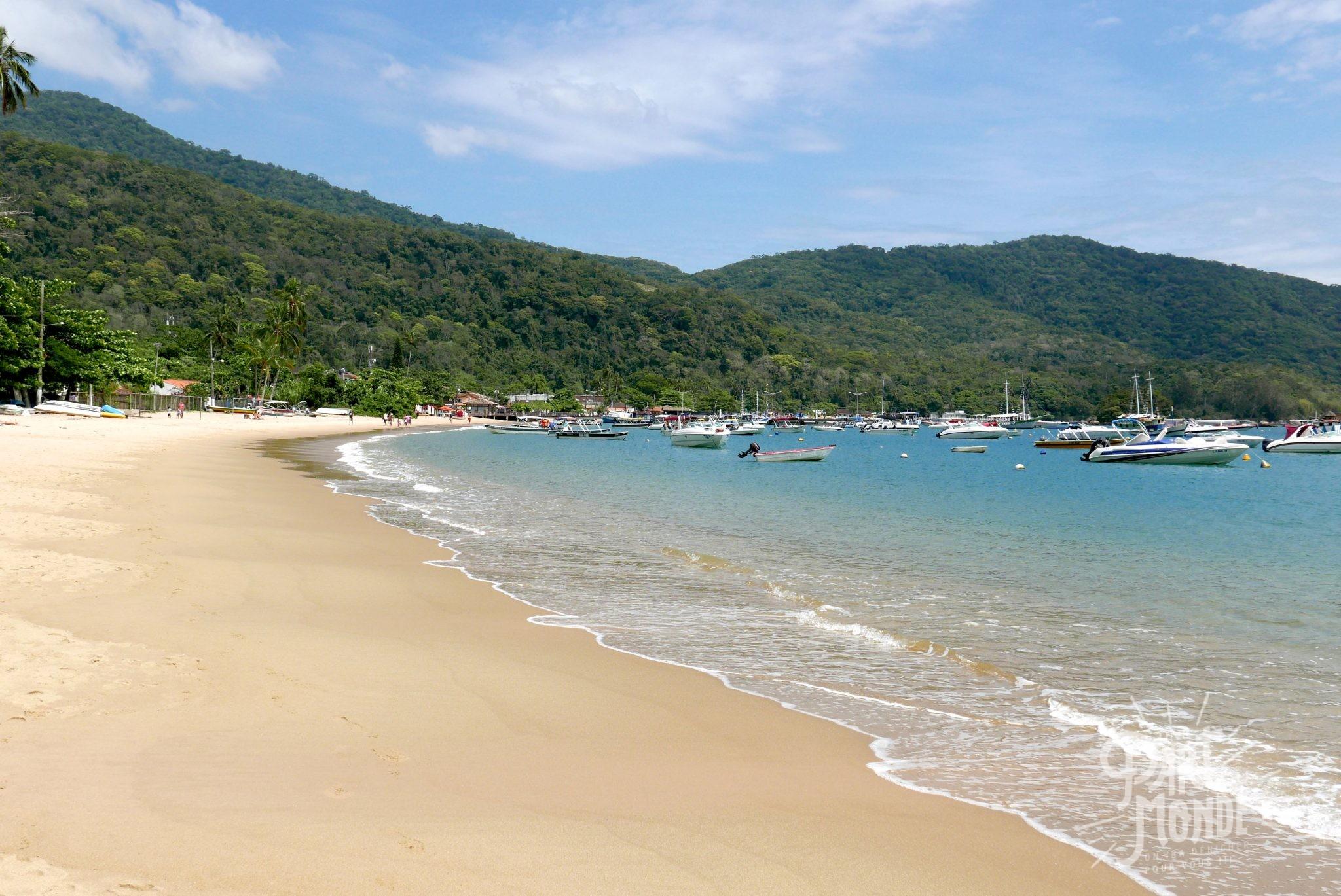 praia pousso ilha grande