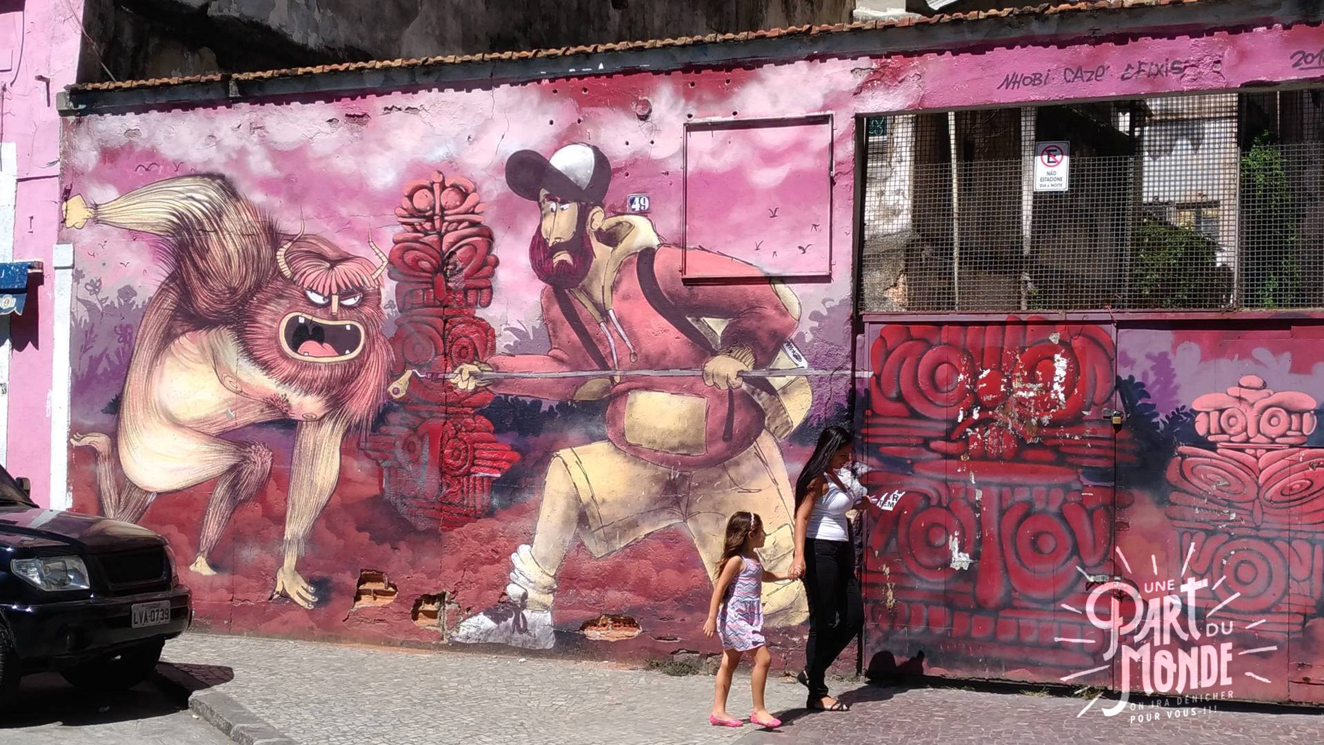 visiter rio de janeiro en 4 jours street art