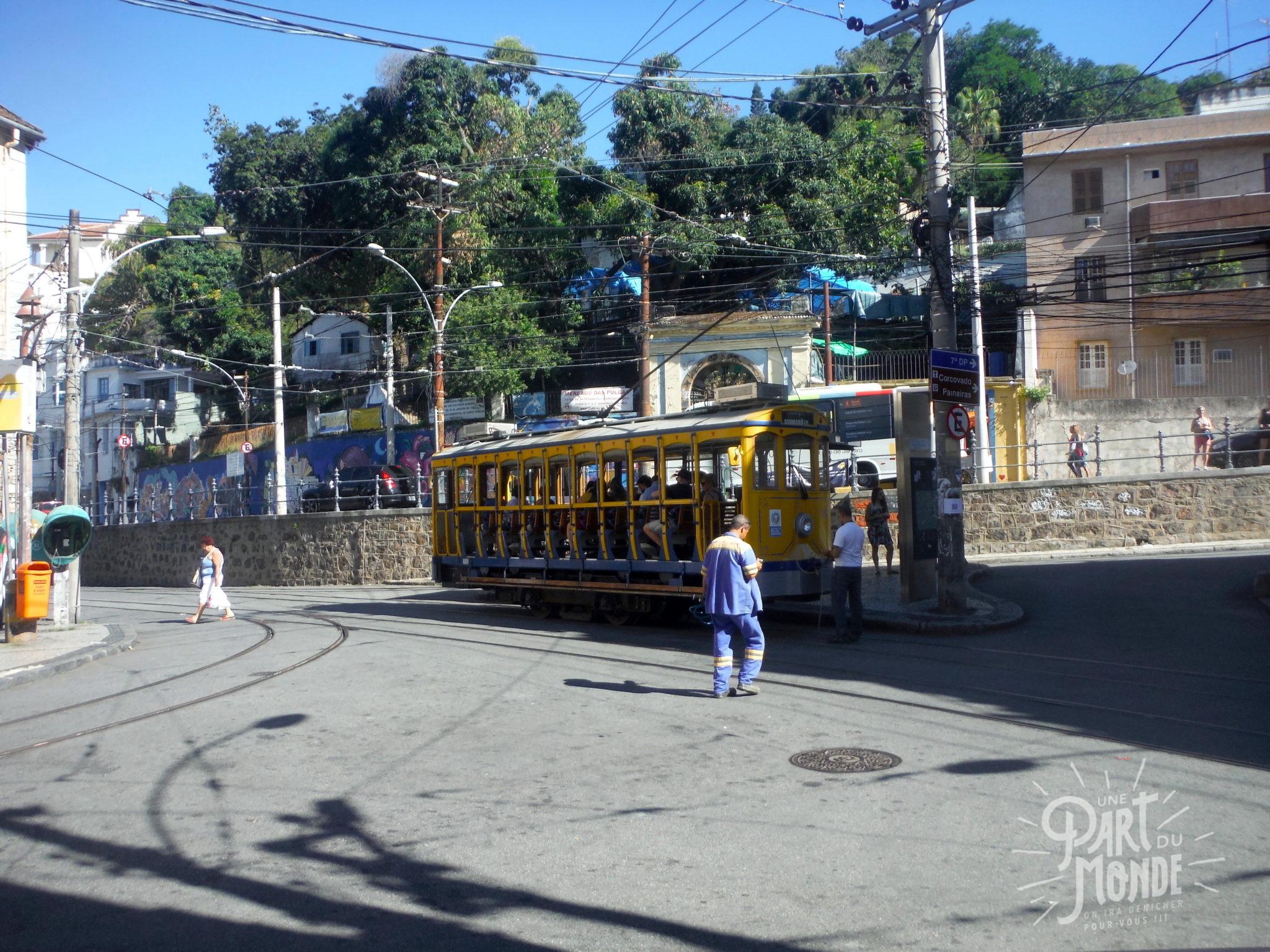 Conseils et bonnes adresses à rio de janeiro tram santa teresa