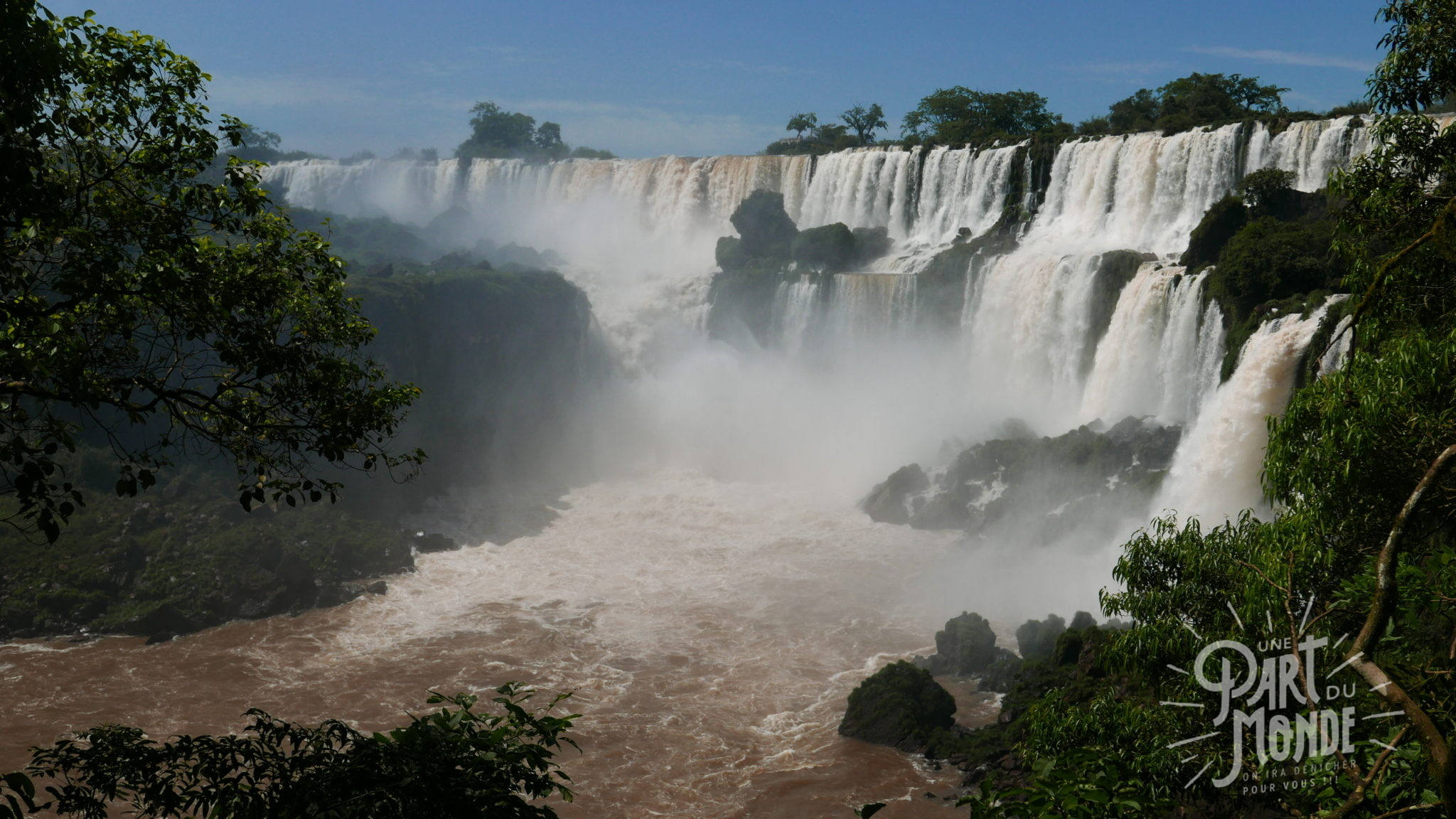 4 mois de voyage : chutes d'Iguazu