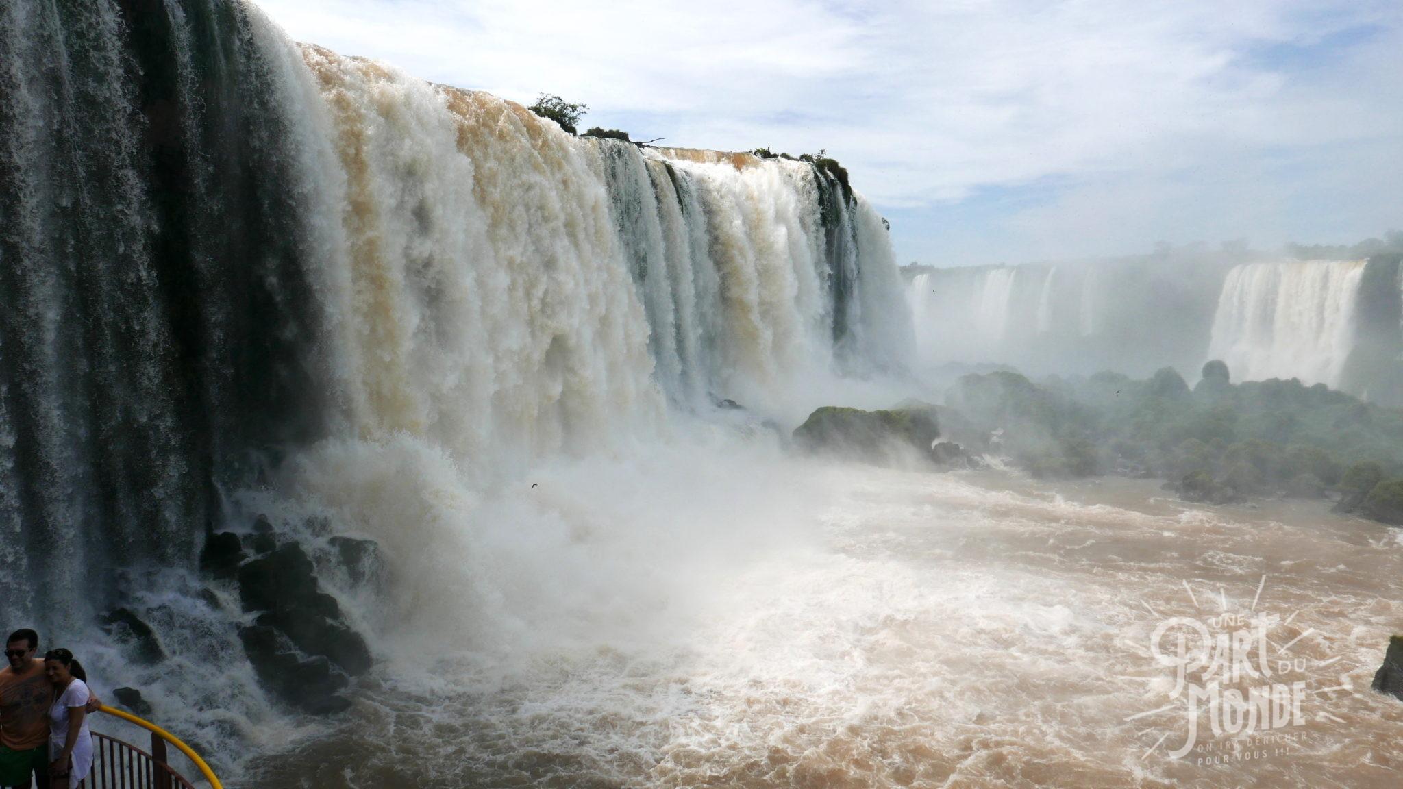 chutes d'iguazu côté brésilien5