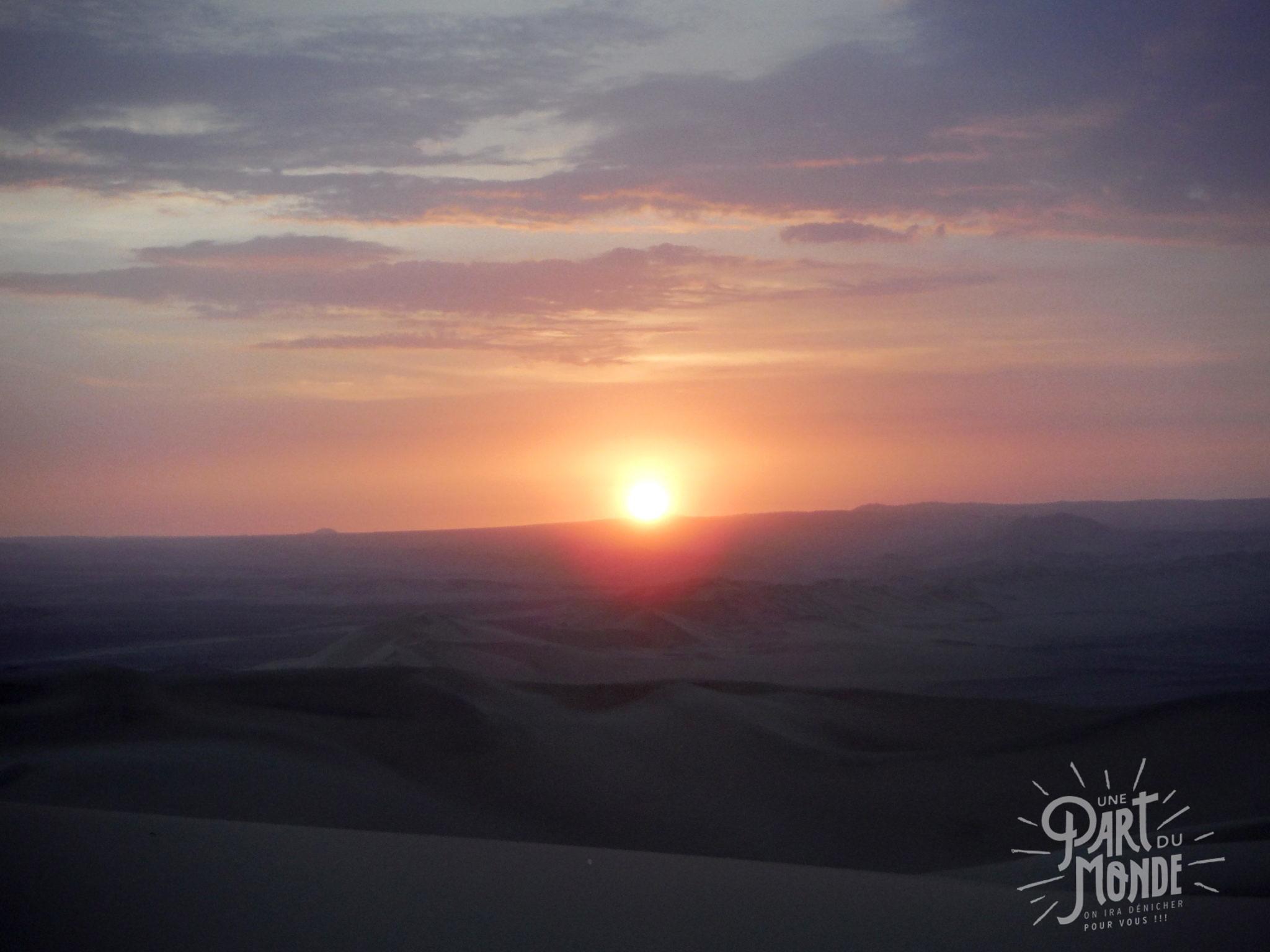 7 mois de voyage ica sunset