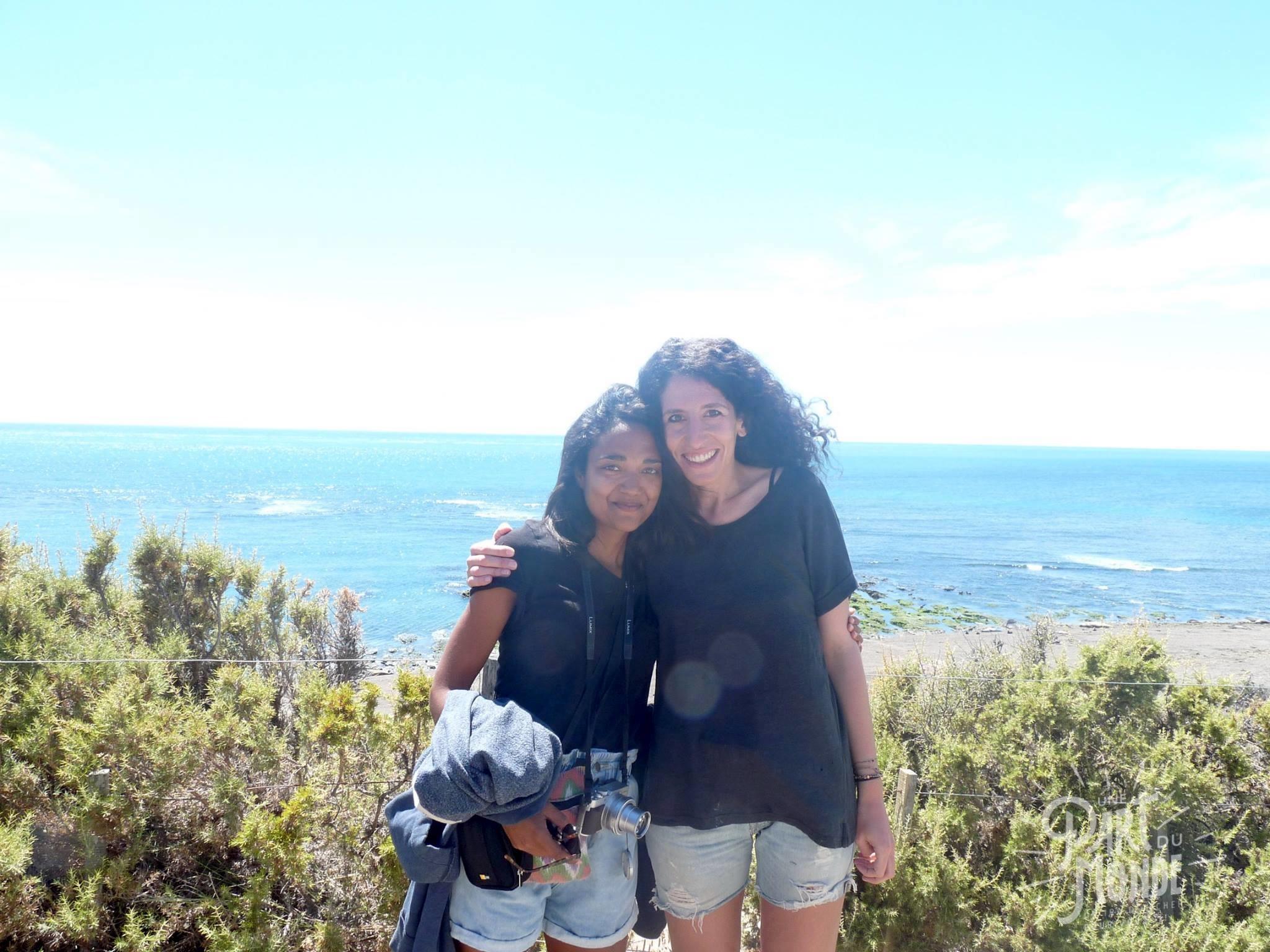 péninsule de valdes Camille et moi