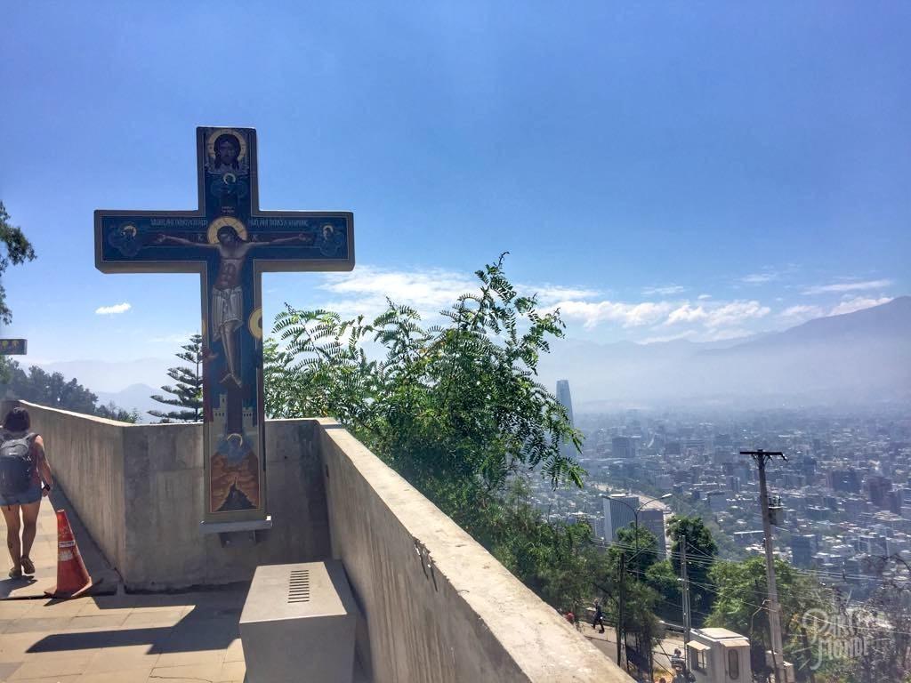 cerro cristobal santiago du chili