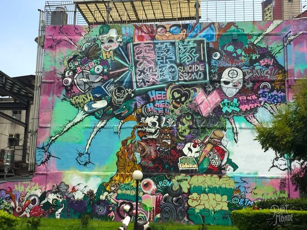 street art taipei ximending 4