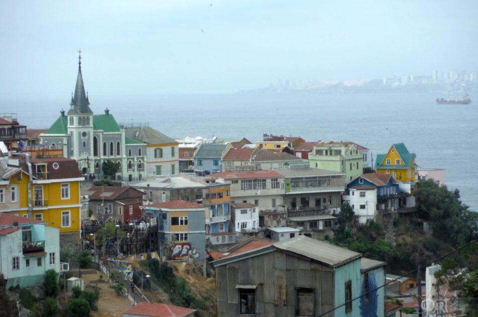 Valparaiso : Street art, terremoto et petite déception