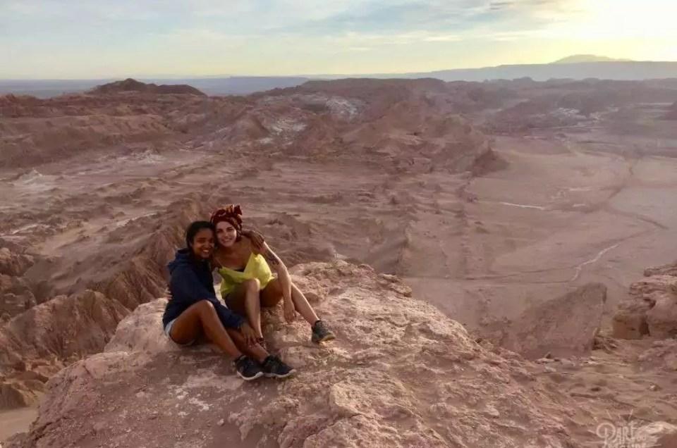 San Pedro de Atacama : Vallée de la lune et Salar de Tara