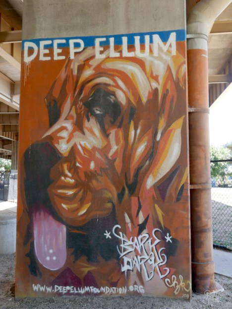 deep ellum chien street art