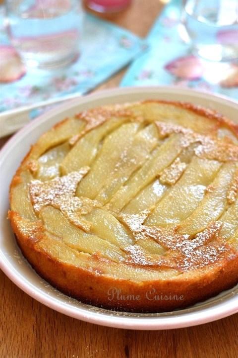Gâteau-poires-gingembre-recette