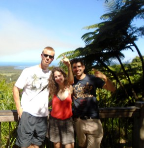 Portrait - backpackers on a road trip to Cape Tribulation and travel stories