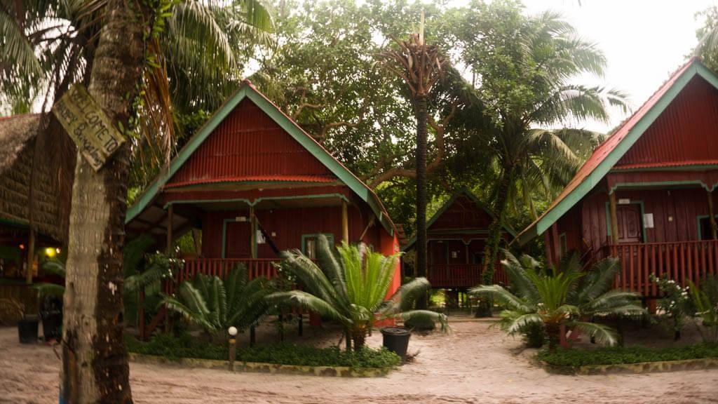 Koh Rong island - accommodation