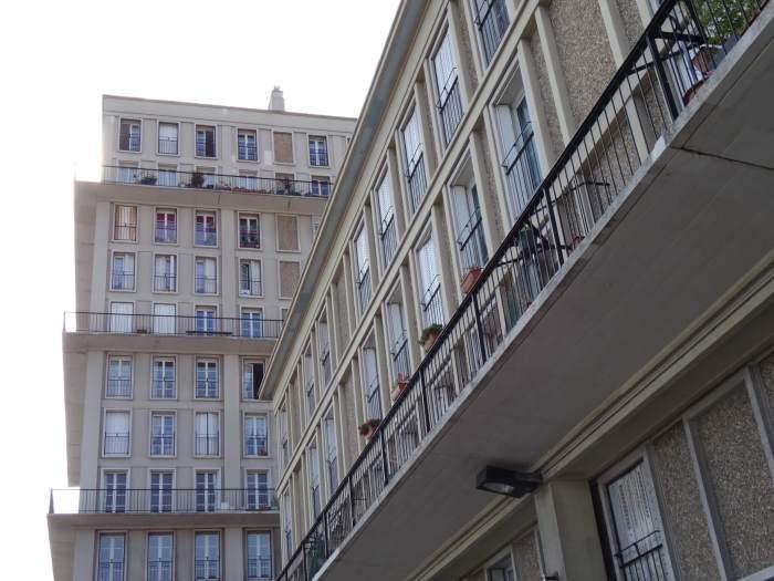 Typische architectuur in Le Havre