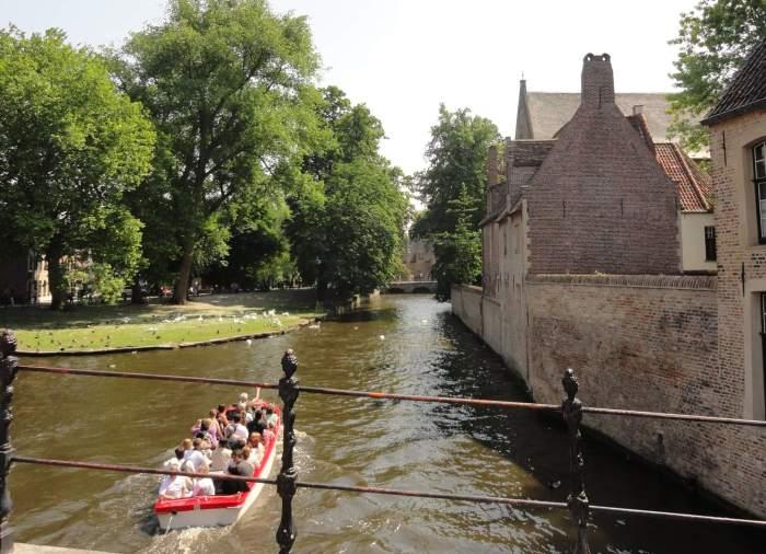 Rei, brug en Begijnhof in Brugge