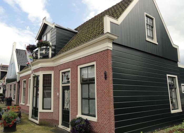 Oudbouw huizen in Middenbeemster