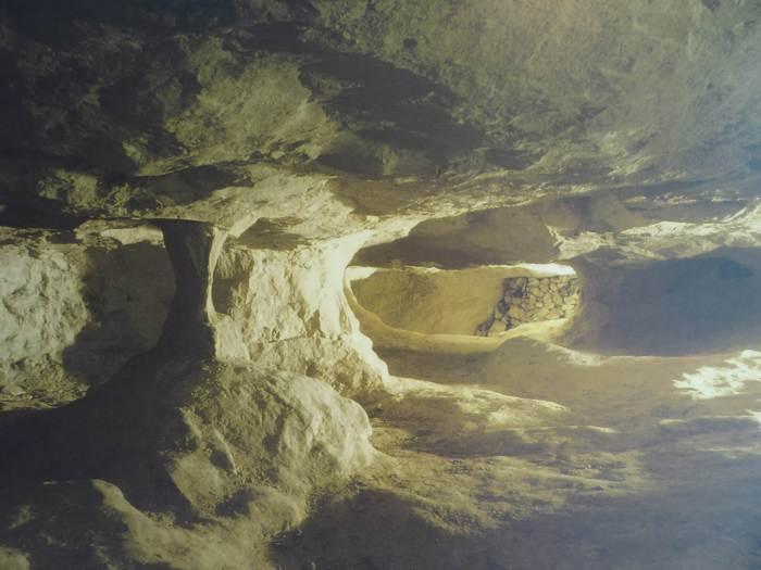 Neolithische vuursteenmijn in Spiennes