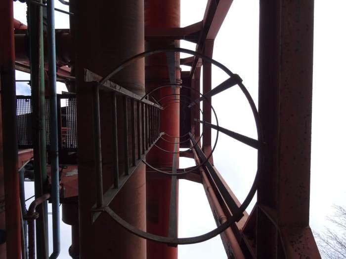 Trap omhoog, detail in Zollverein