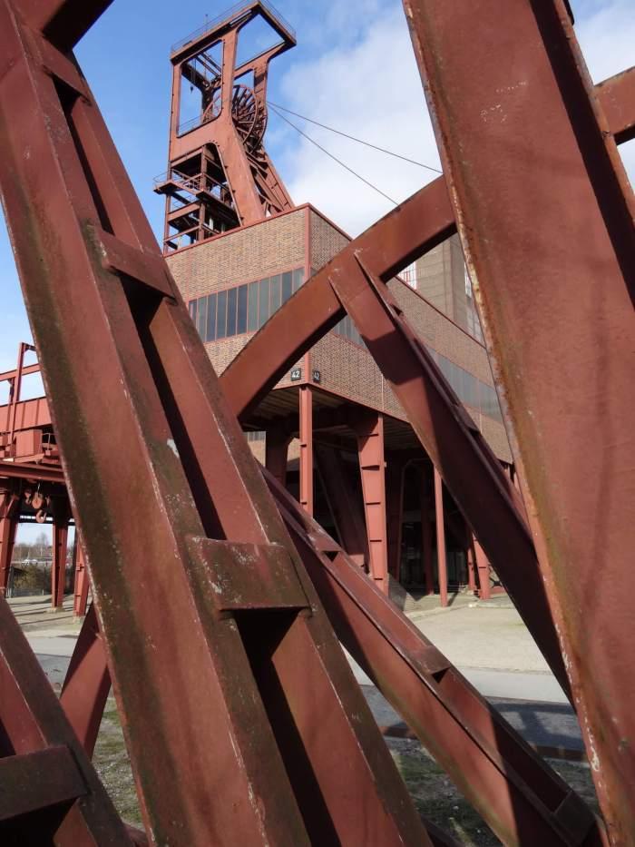 Schacht 8 in Zollverein