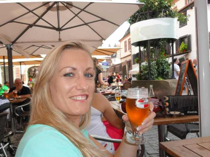 Ech Nie drinkt bier in Straatsburg