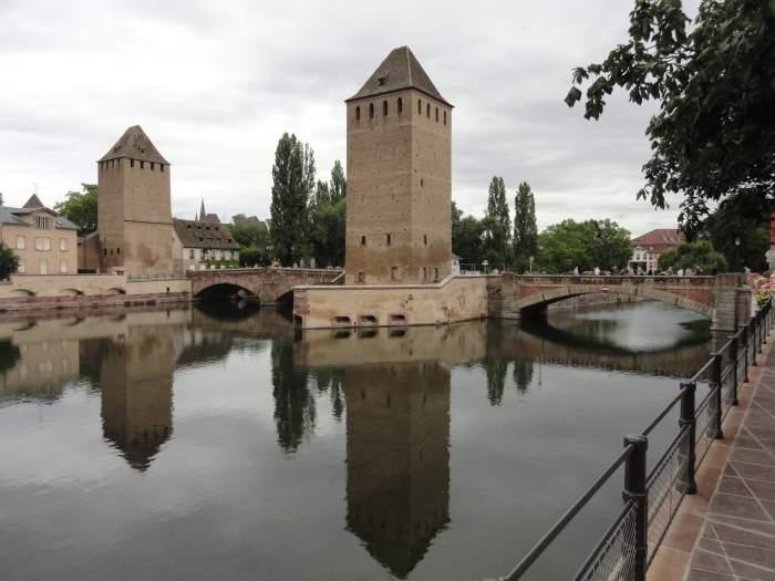 Vestingwerken in Straatsburg