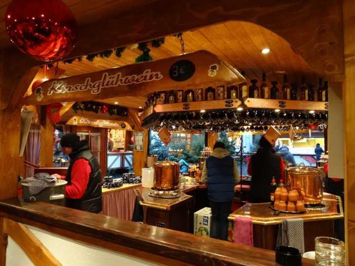 Glühwein op kerstmarkt Hildesheim