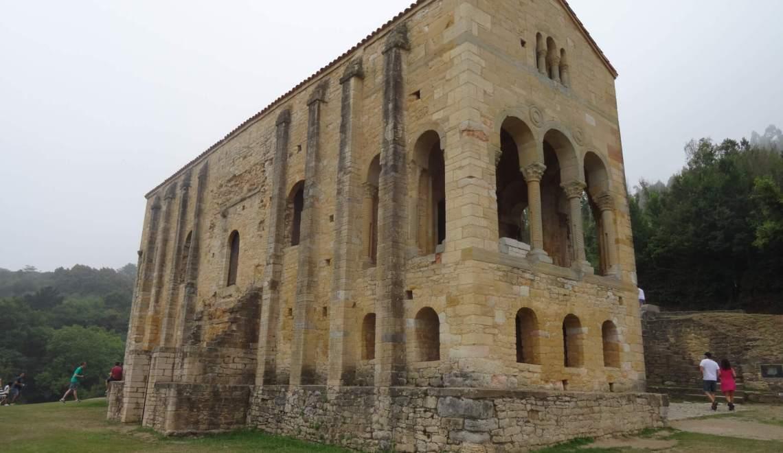 Altijd weer hetzelfde met die Asturische monumenten van Oviedo