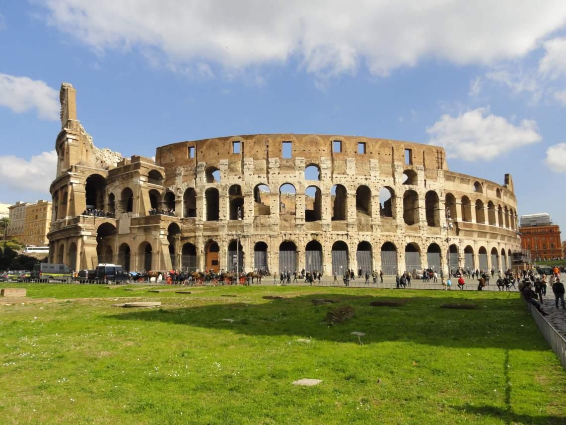 Het colosseum was de arena uit de Romeinse tijd