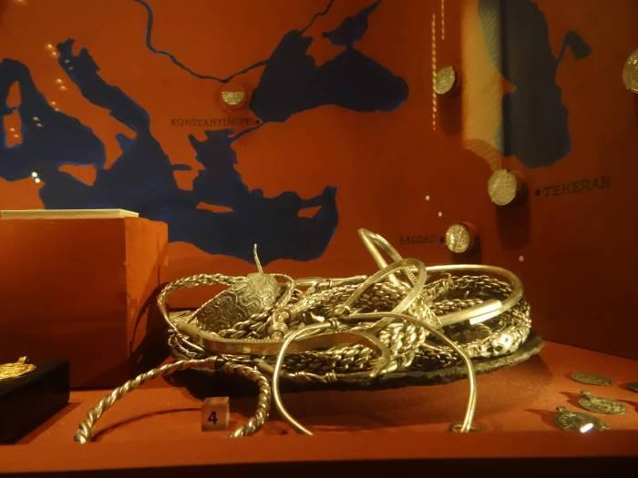 Gouden sieraden van Vikingen