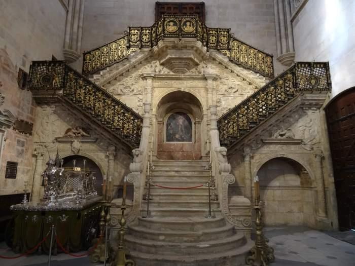 Gouden trap in kathedraal van Burgos