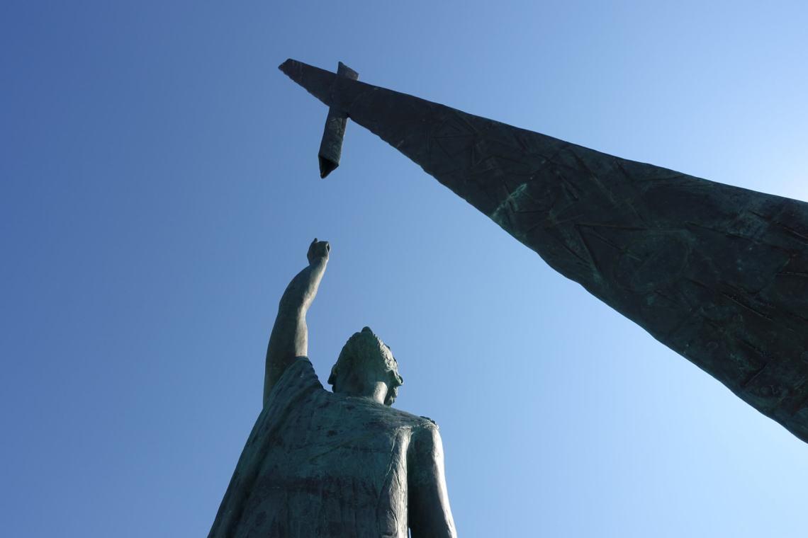 Standbeeld van Pythagoras