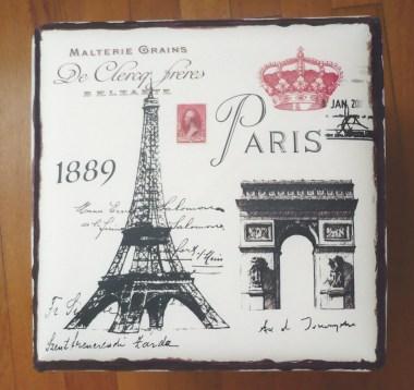 Paris monuments boîte rangement Noz