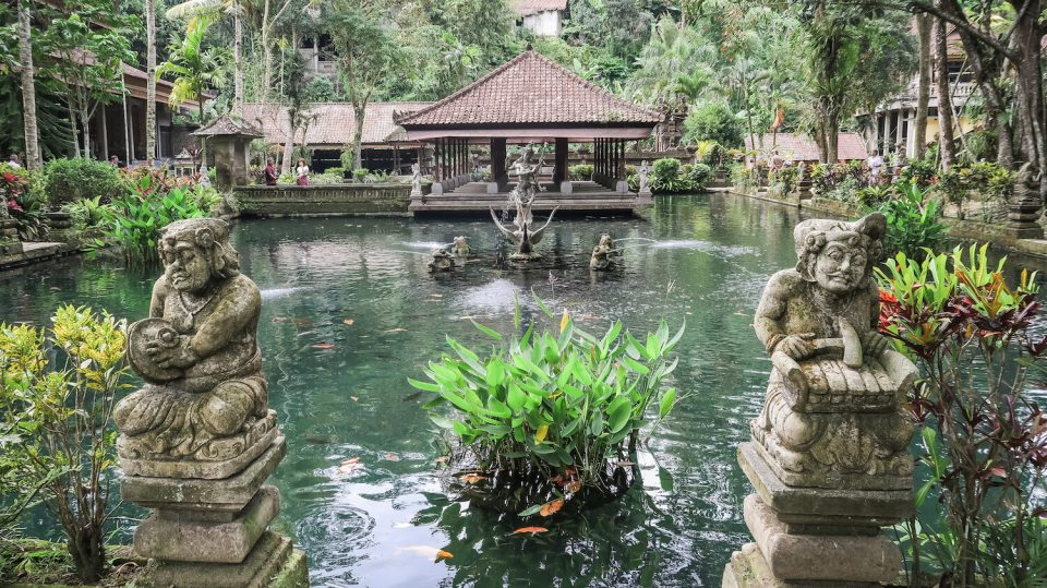 Le temple de Gunung Kawi Sebatu