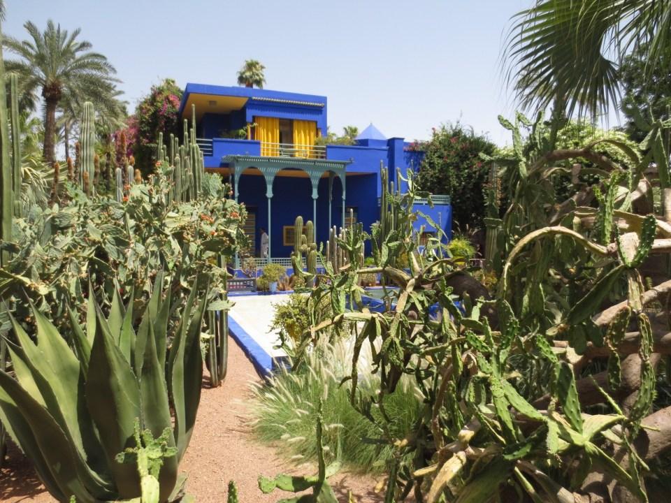 Le Jardin Majorelle et son jardin de cactus