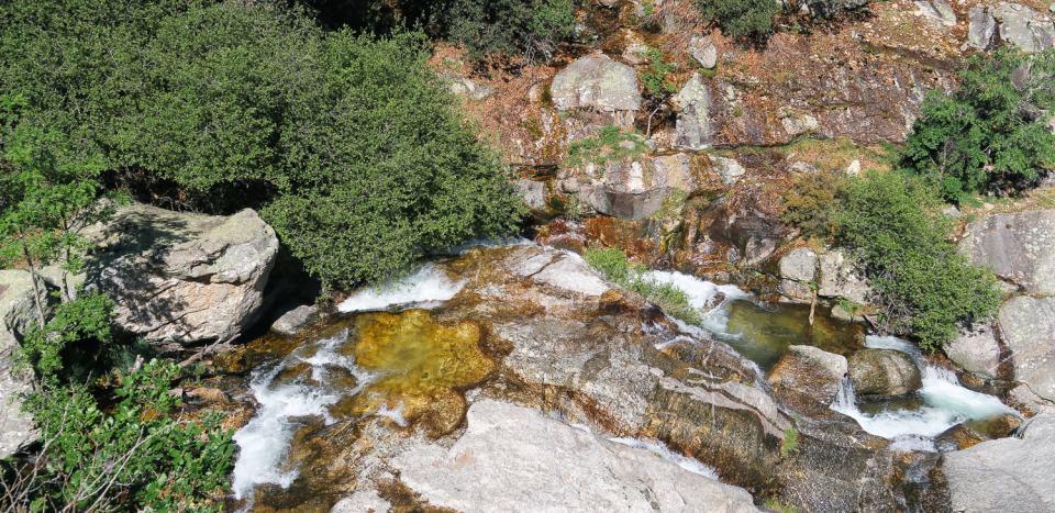 Le torrent d'Arles dans les gorges de Colombières