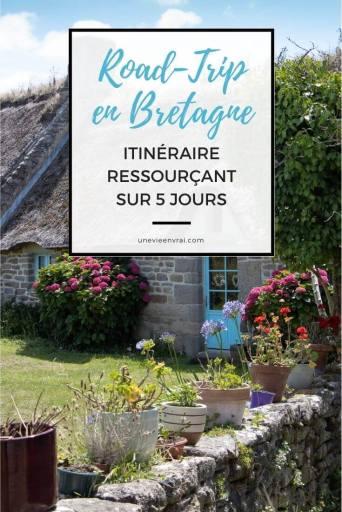 Epingle Pinterest Road-Trip en Bretagne
