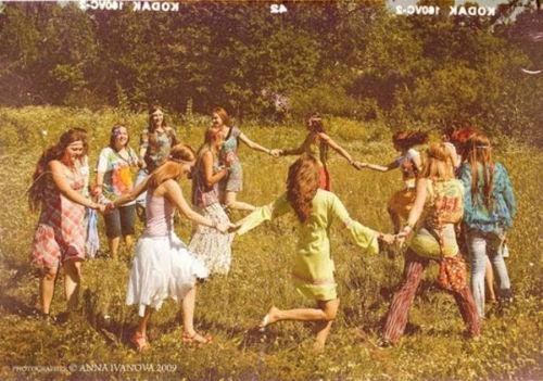 Communauté New Age dans les années 1970