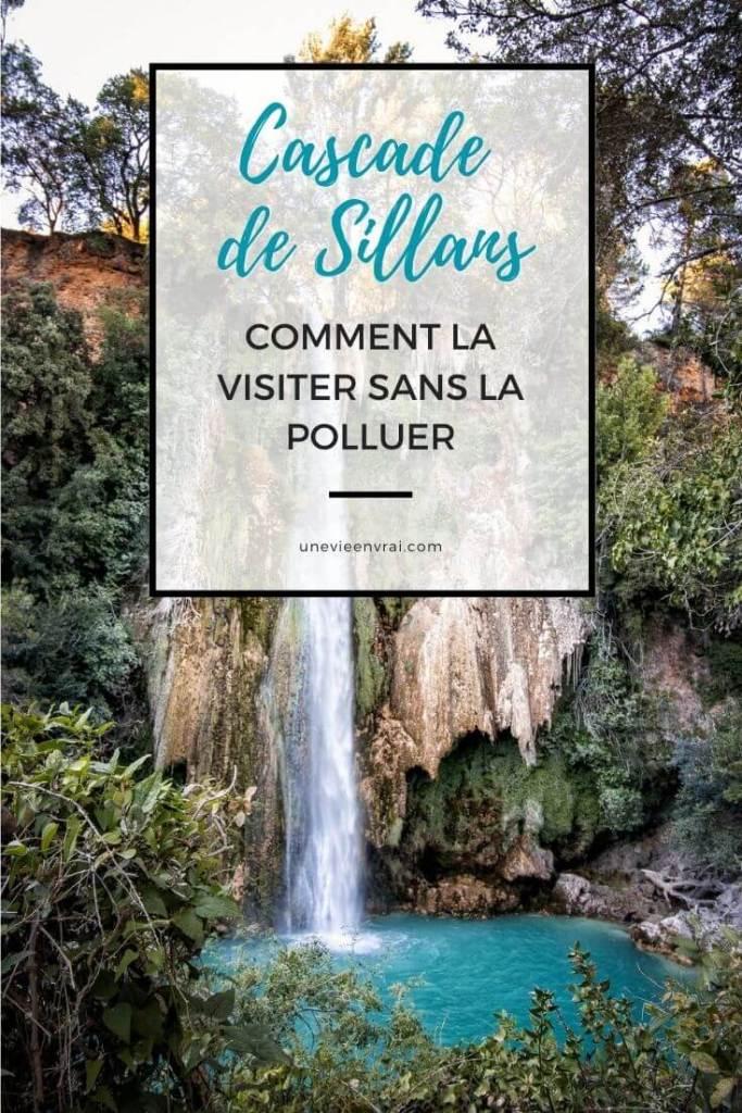 Cover Cascade de Sillans