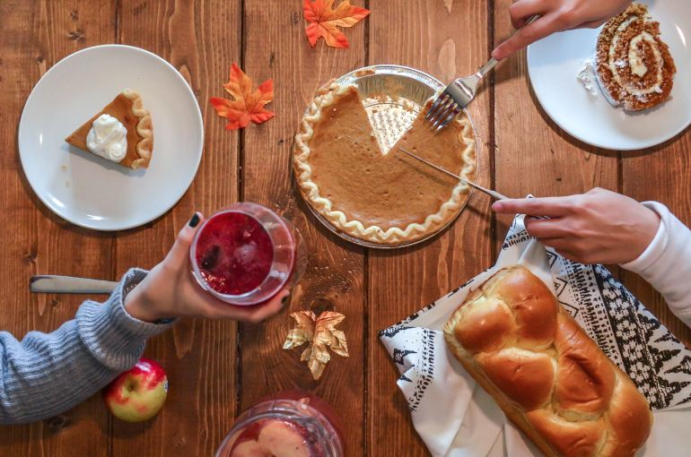 This Thanksgiving let's share what we're thankful for and who we are grieving.