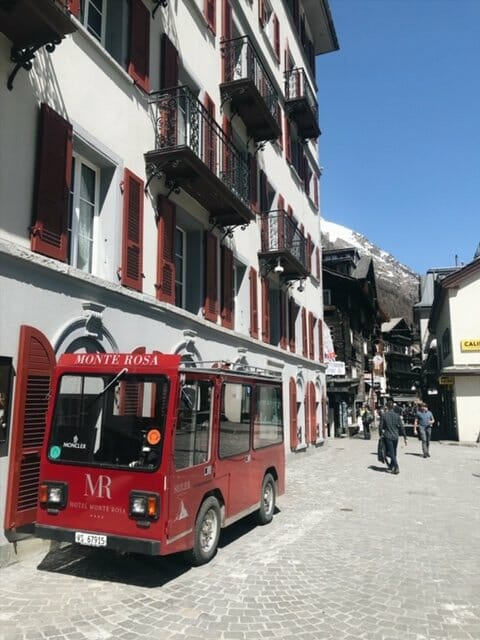 picture of zermatt town for the best time to visit zermatt