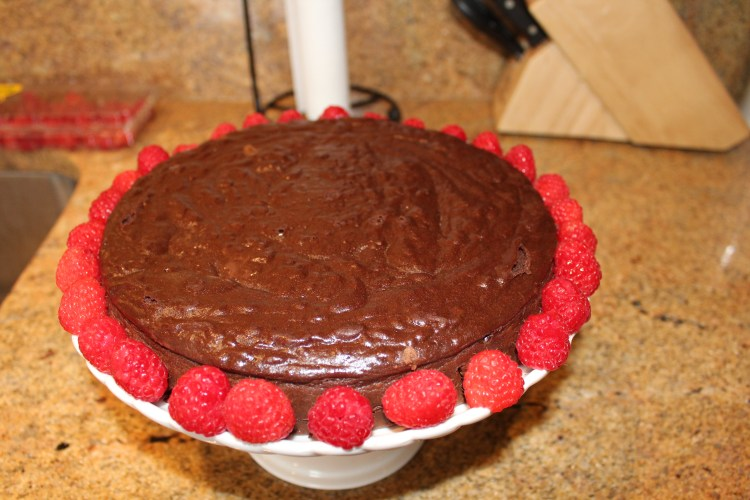 Spicy Chilean Chocolate Cake