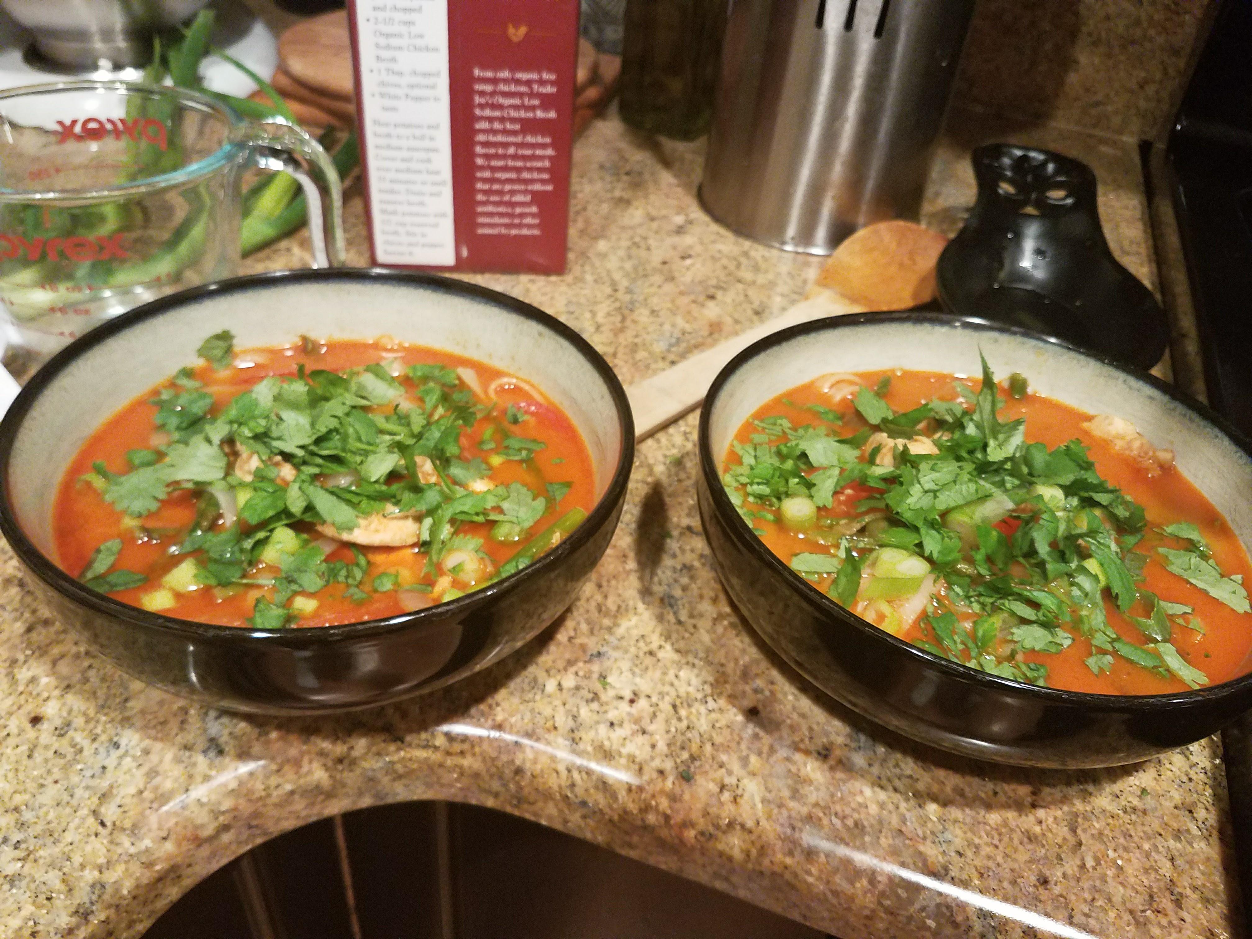 Jenn's Coconut Curry Soup
