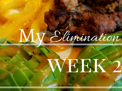 My Elimination Diet – Week 2