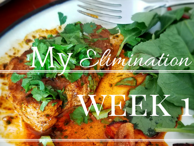 My Elimination Diet – Week 1