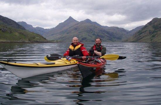 sea kayaking hillwalking knoydart scotland