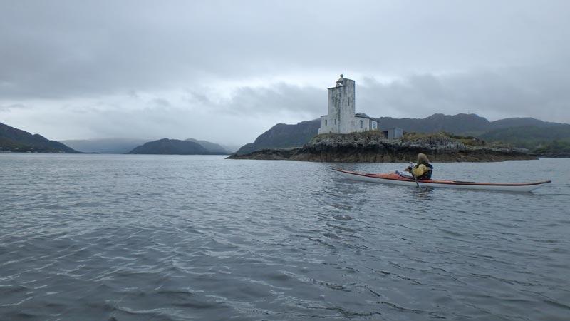 sea kayaking Lighthouse