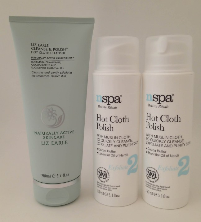 Liz Earle Cleanse & Polish Asda NSpa Hot Cloth Polish