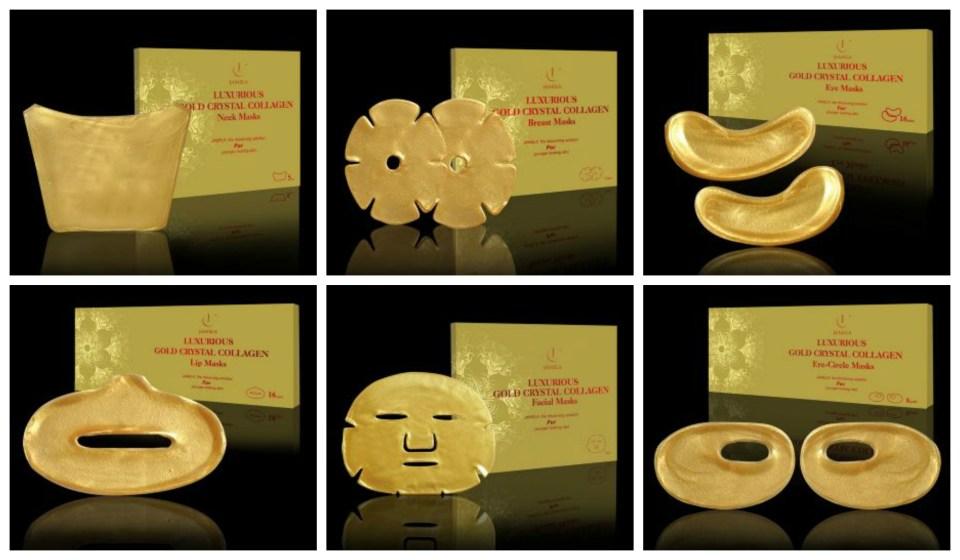 Jamela 24K Gold Collagen Masks